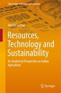 Resources, Technology and Sustainability 1st Edition 9789811008955 9811008957