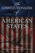 The Constitutionalism of American States 0 9780826217646 0826217648