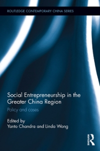 Social Entrepreneurship in the Greater China Region 1st Edition 9781317365990 1317365992