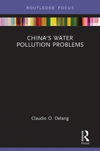 China's Water Pollution Problems 1st Edition 9781317209263 1317209265