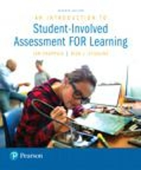 Introduction to Student-Involved Assessment FOR Learning, An with MyEducationLab with Enhanced Pearson eText, Loose-Leaf Version -- Access Card Package 7th Edition 9780133436518 0133436519
