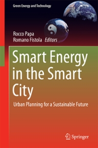 Smart Energy in the Smart City 1st Edition 9783319311579 3319311573