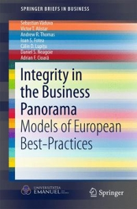 Integrity in the Business Panorama 1st Edition 9783319338439 3319338439