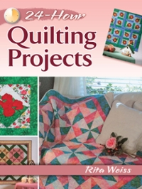 24-Hour Quilting Projects 1st Edition 9780486811048 0486811042