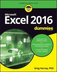 Excel 2016 For Dummies 1st Edition 9781119293439 111929343X