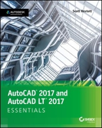 AutoCAD 2017 and AutoCAD LT 2017 Essentials 1st Edition 9781119243335 1119243335