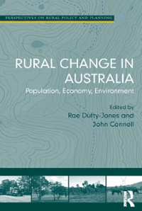 Rural Change in Australia 1st Edition 9781317060888 1317060881