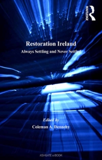 Restoration Ireland 1st Edition 9781317064756 1317064755