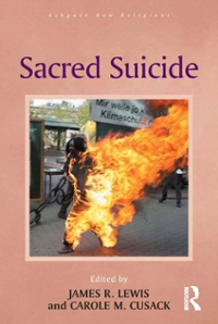 Sacred Suicide 1st Edition 9781317060192 1317060199
