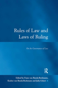 Rules of Law and Laws of Ruling 1st Edition 9781317060949 1317060946