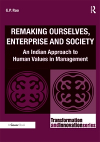 Remaking Ourselves, Enterprise and Society 1st Edition 9781317066828 1317066820