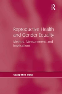 Reproductive Health and Gender Equality 1st Edition 9781317065869 1317065867