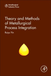 Theory and Methods of Metallurgical Process Integration 1st Edition 9780128096307 0128096306