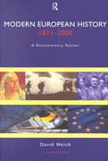 Modern European History, 1871-2000 2nd edition 9780415215824 041521582X