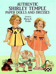 Authentic Shirley Temple Paper Dolls and Dresses 0 9780486266107 0486266109