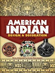 American Indian Design and Decoration 0 9780486227047 0486227049