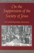 On the Suppression of the Society of Jesus 0 9780829412956 0829412956