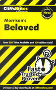 CliffsNotes on Morrison's Beloved 1st edition 9780764586675 076458667X