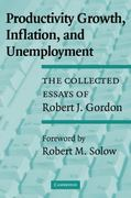 Productivity Growth, Inflation, and Unemployment 0 9780521531429 052153142X