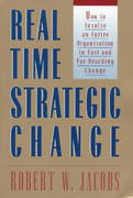 Real Time Strategic Change 0 9781576750308 1576750302