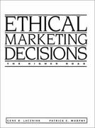 Ethical Marketing Decisions 1st edition 9780205136278 0205136273