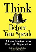 Think Before You Speak 1st Edition 9780471013211 0471013218