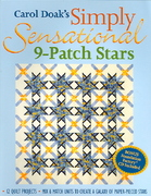 Carol Doak's Simply Sensational 9-Patch Stars 0 9781571202840 1571202846