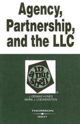 Agency, Partnership, and the LLC in a Nutshell 3rd edition 9780314158949 0314158944