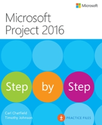 Microsoft Project 2016 Step by Step 1st Edition 9780735698758 0735698759