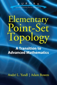 Elementary Point-Set Topology 1st Edition 9780486811017 0486811018
