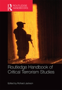 Routledge Handbook of Critical Terrorism Studies 1st Edition 9781317801627 1317801628
