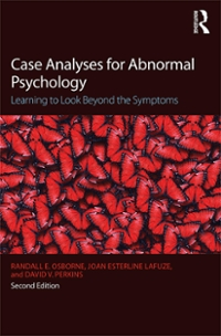 Case Analyses for Abnormal Psychology 2nd Edition 9781317445470 1317445473