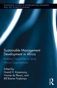 Sustainable Management Development in Africa 1st Edition 9781317500964 1317500962