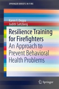 Resilience Training for Firefighters 1st Edition 9783319387789 3319387782