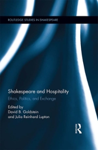 Shakespeare and Hospitality 1st Edition 9781317632894 1317632893