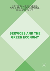 Services and the Green Economy 1st Edition 9781137527103 1137527102