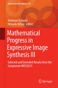 Mathematical Progress in Expressive Image Synthesis III 1st Edition 9789811010767 9811010765