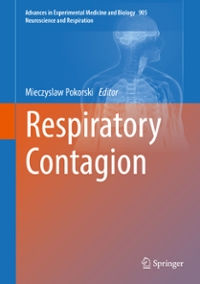 Respiratory Contagion 1st Edition 9783319306049 3319306049