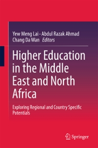 Higher Education in the Middle East and North Africa 1st Edition 9789811010569 9811010560