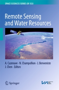 Remote Sensing and Water Resources 1st Edition 9783319324494 3319324497