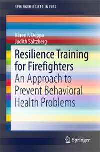 Resilience Training for Firefighters 1st Edition 9783319387796 3319387790
