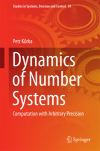 Dynamics of Number Systems 1st Edition 9783319333670 3319333674