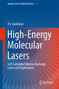 High-Energy Molecular Lasers 1st Edition 9783319333595 3319333593