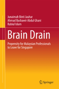 Brain Drain 1st Edition 9789811009778 9811009775