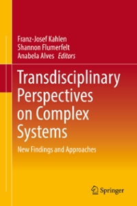 Transdisciplinary Perspectives on Complex Systems 1st Edition 9783319387567 3319387561