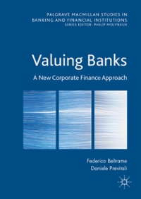 Valuing Banks 1st Edition 9781137561428 1137561424