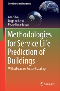 Methodologies for Service Life Prediction of Buildings 1st Edition 9783319332901 3319332902