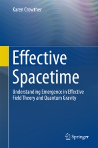 Effective Spacetime 1st Edition 9783319395081 3319395084