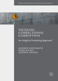 Tackling Correctional Corruption 1st Edition 9781137490070 1137490071