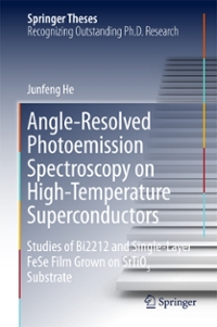 Angle-Resolved Photoemission Spectroscopy on High-Temperature Superconductors 1st Edition 9783662527320 3662527324